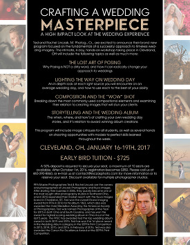 cleveland wedding photography workshop